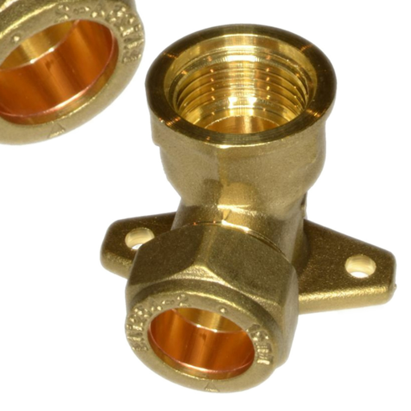 1pc Brass Tap Backplate Elbow Wing-back Elbow 15mm*1/2
