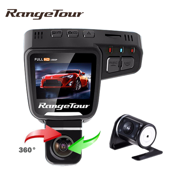 Range Tour Dual Lens Car DVR Dashboard Camera C10s Plus Full HD ...