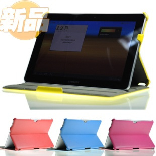 For samsung   p7510 p7500 magic holsteins shaping protective case litchi holsteins