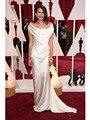 Hombro Celebrity Dresses génesis Rodriguez Ivoty estatinas sirena de la alfombra roja Vestidos Vestidos de la celebridad 2015 Oscar