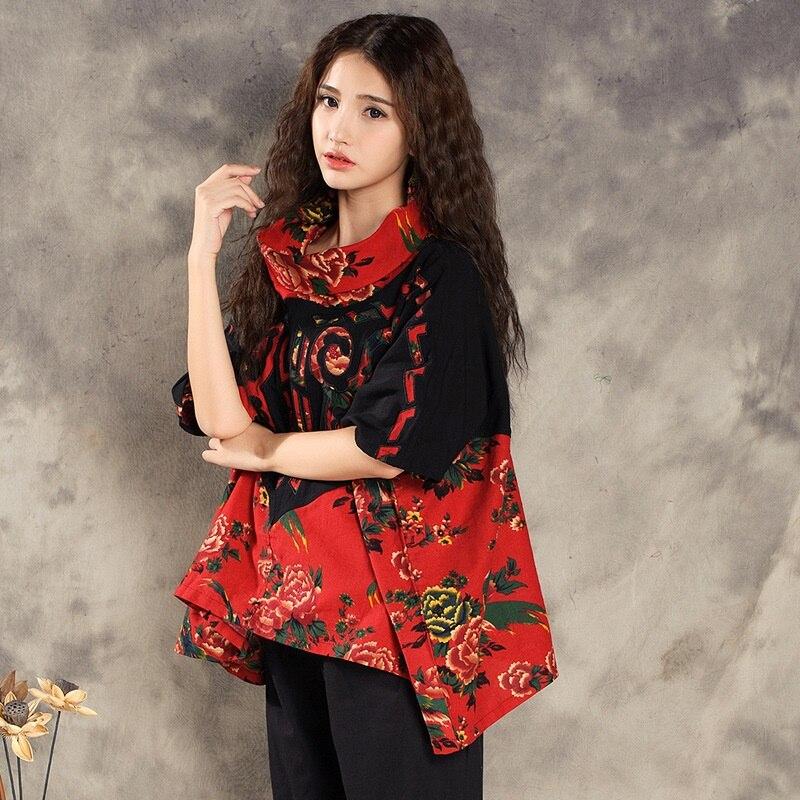 Traditional Chinese Blouse Shirt Tops For Women Mandarin Collar Oriental Linen Shirt Blouse Female Elegant Cheongsam Top TA852