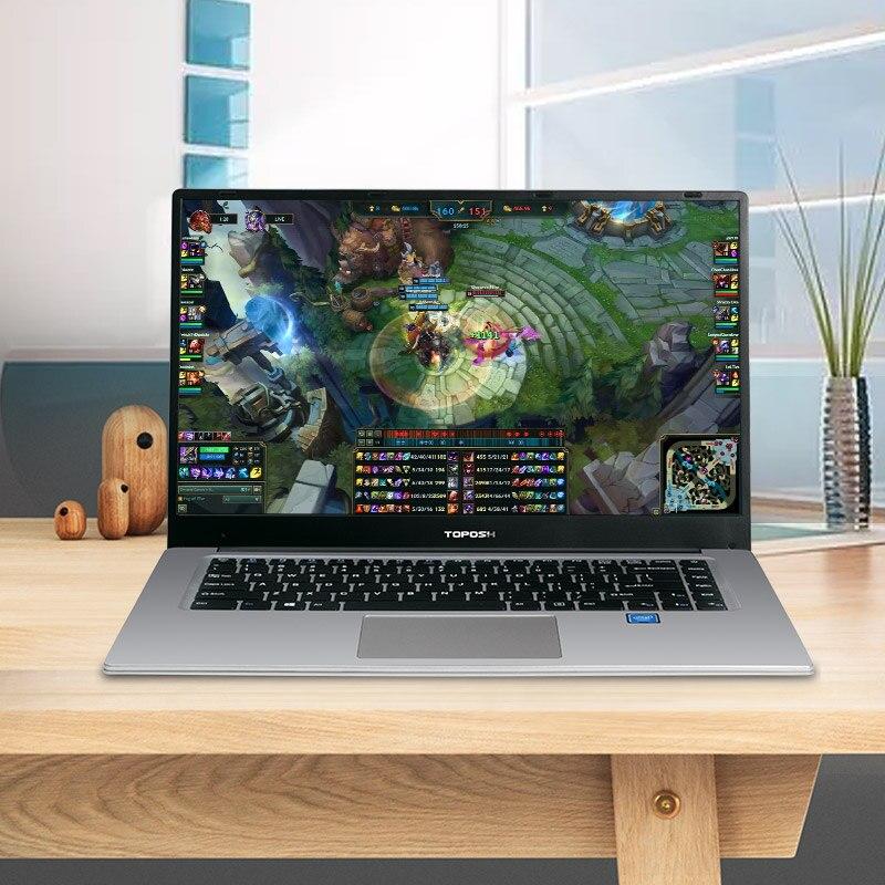 מחשב נייד P2-08 6G RAM 64G SSD Intel Celeron J3455 מקלדת מחשב נייד מחשב נייד גיימינג ו OS שפה זמינה עבור לבחור (3)