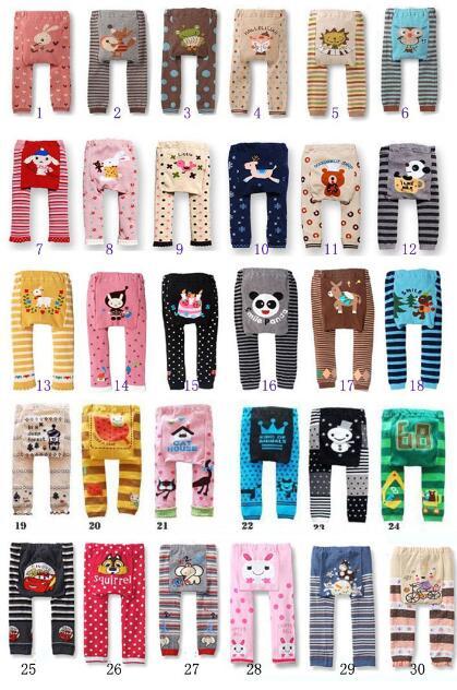 Акция, 18 шт. в партии, популярные детские штаны на подгузник, 36 цветов Штаны для мальчиков и девочек детские леггинсы - Цвет: Mixed Color You Want