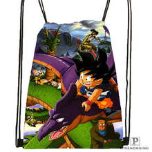 Custom dragon ball 1 Drawstring Backpack Bag Cute Daypack Kids Satchel Black Back 31x40cm 2018611 1