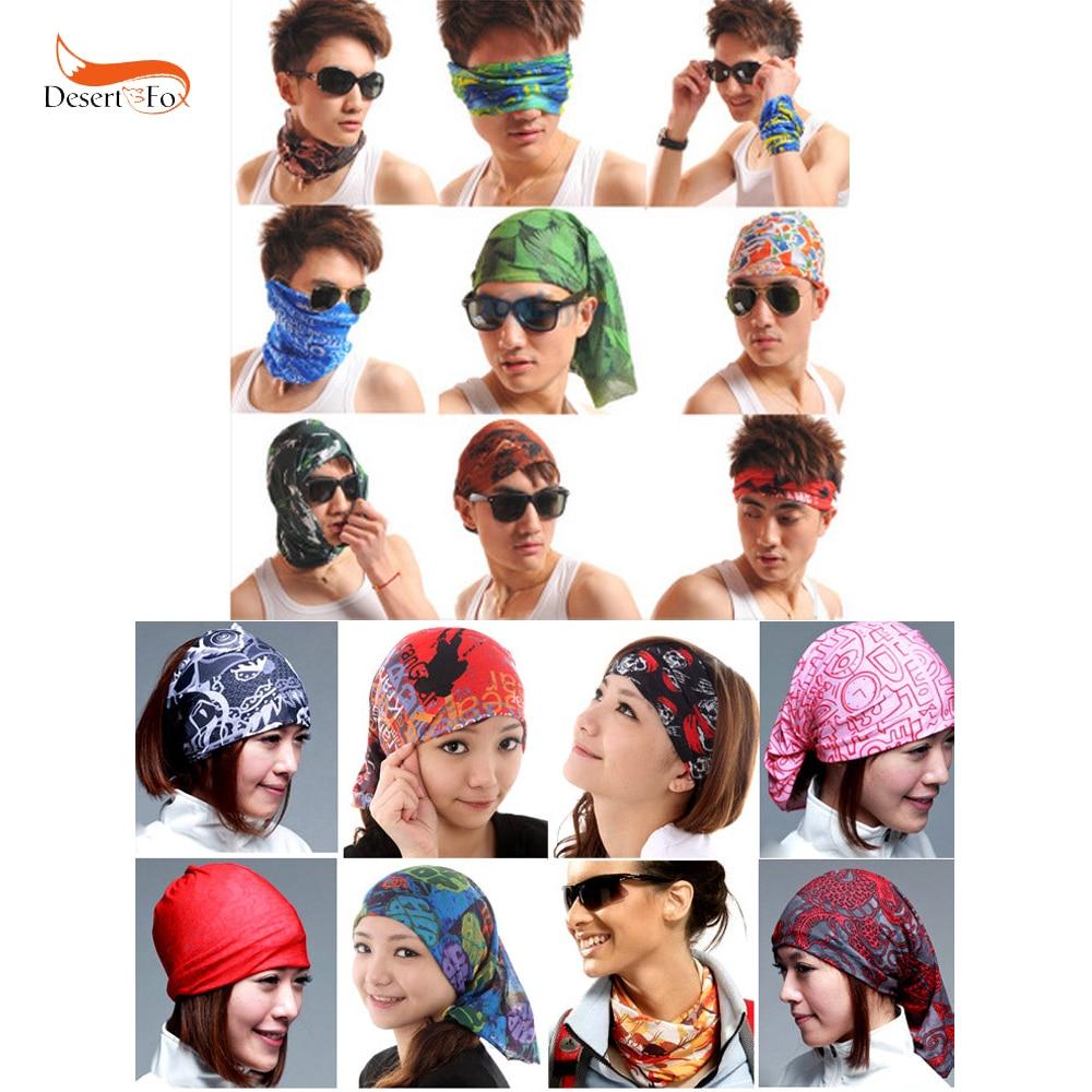 Scarf Sport Headwear Men Women Reversible Bandanas Motorcycle Turban Hand Band Magic Scarves Outdoor Cycling Hiking Headband