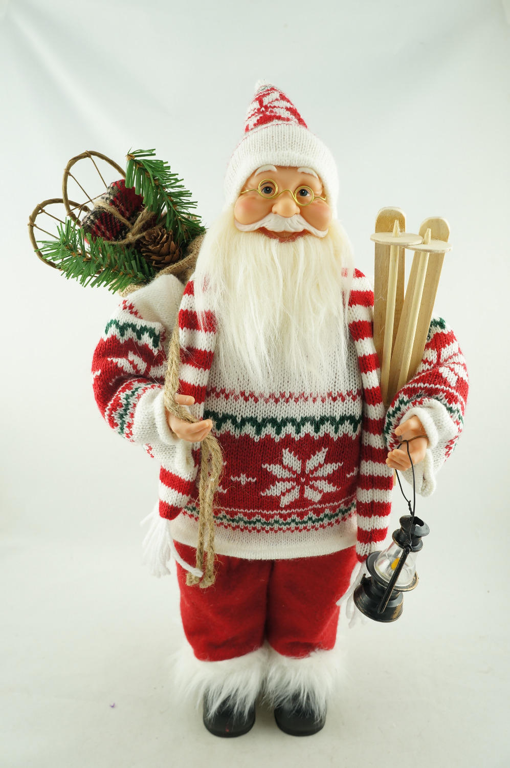 plush decorations decoration wayfair outdoor climbing chimney santa national cor christmas tree d pdx decor claus co