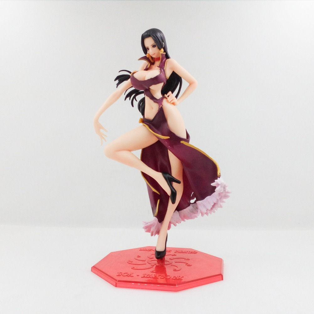 One Piece Boa Hancock Action Figure 24CM Boxed PVC Animation Model Figures Doll Toys Classic Collection Brinquedos OP0002 new hot 12cm one piece boa hancock monkey d luffy modelling action figure toys collection doll christmas gift with box
