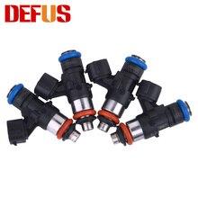 4 шт., инжекторы с высоким потоком топлива для бензина, метанола, 120lb, 1300cc, форсунки с высоким сопротивлением, модифицированные автомобили, со...