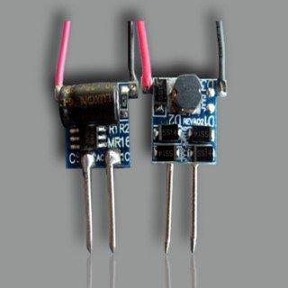 1-3W MR16 LED constant current driver,DC12V input;size:18*12*13mm