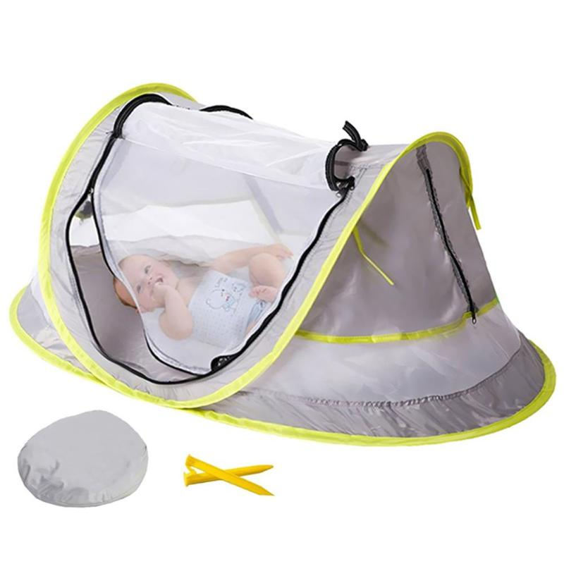 Baby Beach Tent Toy UV Protection Foldable Mosquito Net Indoor Outdoor Camping Tents Summer Beach Fun Sports Toys For Children