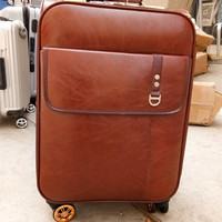 KUNDUI High quality caster trolley suitcase fashion ladies designer Retro luggage Bags Business travel with trolleys bag viagem