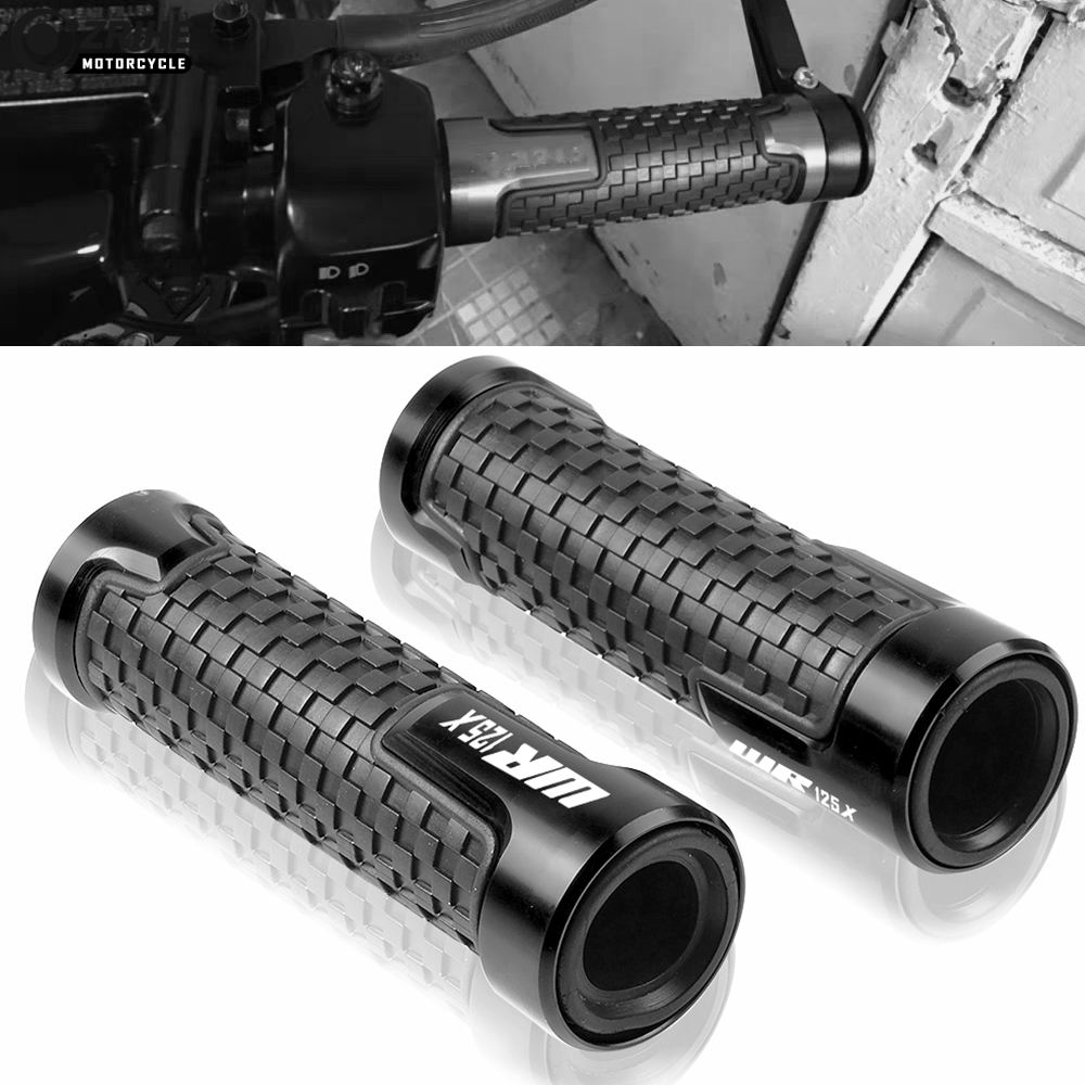 22MM 7/8 Handlebar Accessories Handle Bar Bicycle Rubber Handle Bar Grips For YAMAHA WR125X WR 125X WR 125 X 2012 2013 2014-2016