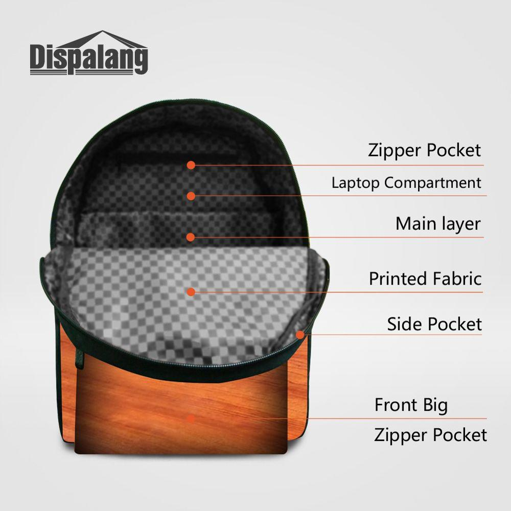 Online Shop Dispalang Crazy Horse 3D Prints Backpack Customized Bagpack With Water Holder High Quality School Book Bags For Laptop Mochila