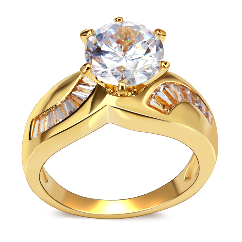 New Style Rings For Women Cubic Zirconia Setting