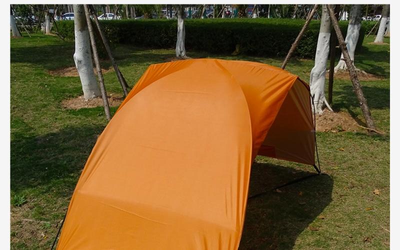 Leve portátil sun shelter praia tenda verão