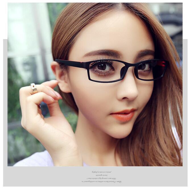 Studenti Muži Ženy Dokončené Brýlí Brýlové Brýle Rám S Stupně Objektivů Diopter Brýle -1,00 -1,50 -2,00 -2.50 -3,00-3.50-4,00