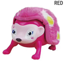New Style Interactive Pet Hedgehog with Multi-modes Lights Sounds Sensors Light-up Walk Roll Headstand Toys