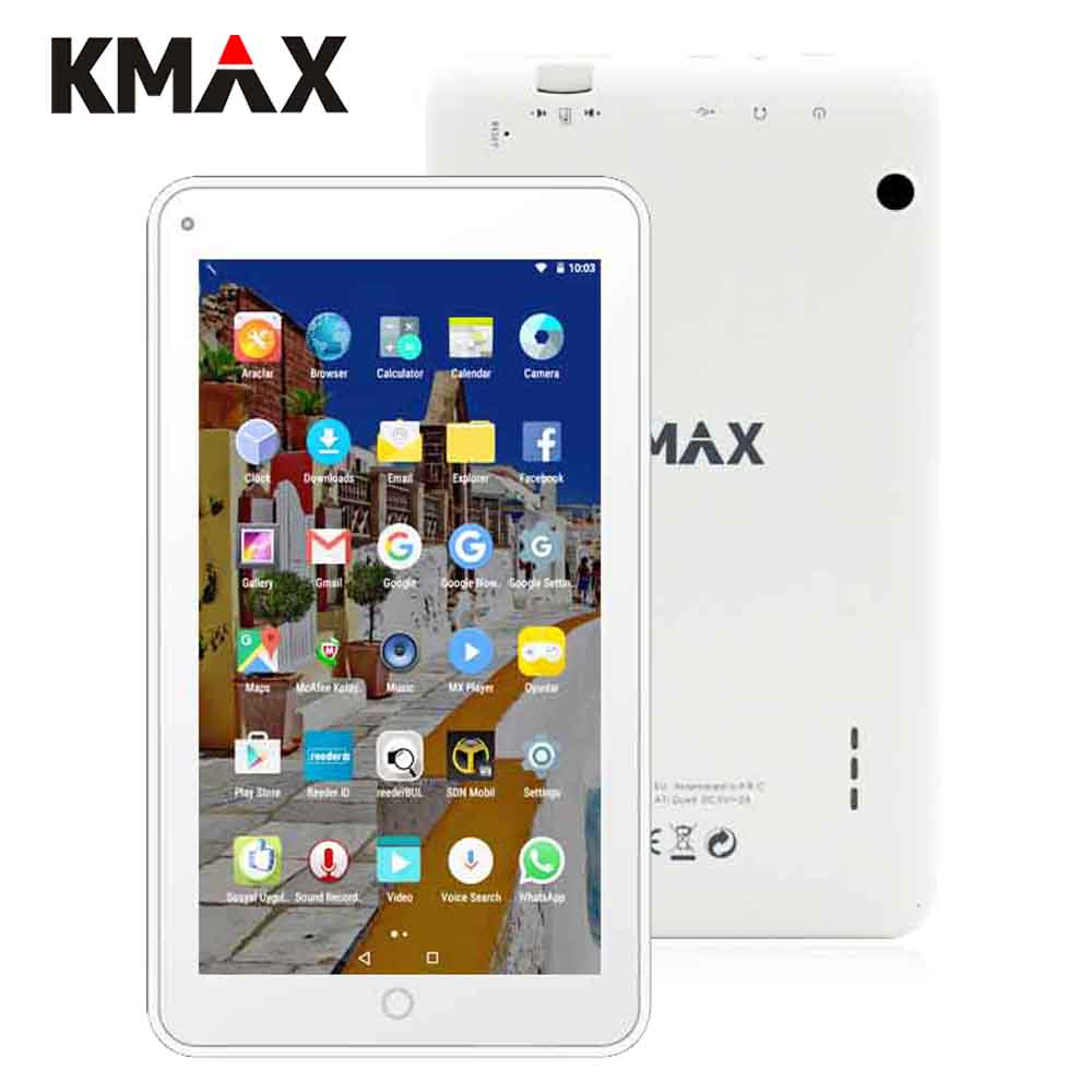 KMAX tablet pc 7 inch IPS Quad Core Android 7.0 Google Tablets Dual Camera Bluetooth 16GB ROM WIFI Tablets K-A7i Quad