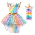 YOFEEL Girls Rainbow...