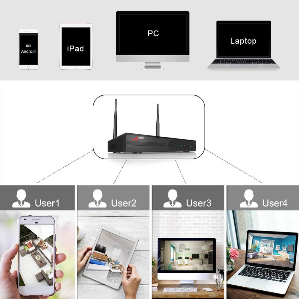 ANRAN 1080P HD IP kamerák vízálló kültéri éjjellátó - Biztonság és védelem - Fénykép 5