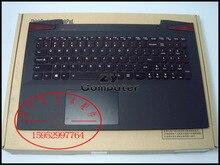 Novo para lenovo ideapad y50-70 15.6 teclado tampa superior palmrest maiúsculas ap14r000a00