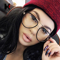 Fashion Women Polit Glasses Frame Brand Designer Vintage Men Clear Lens Eyeglasses