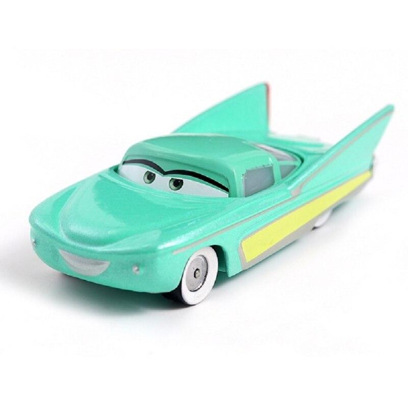 Disney Pixar машина 3 Молния Маккуин гоночный семейный 39 Джексон шторм Рамирез 1:55 литой металлический сплав детская Игрушечная машина - Цвет: 37