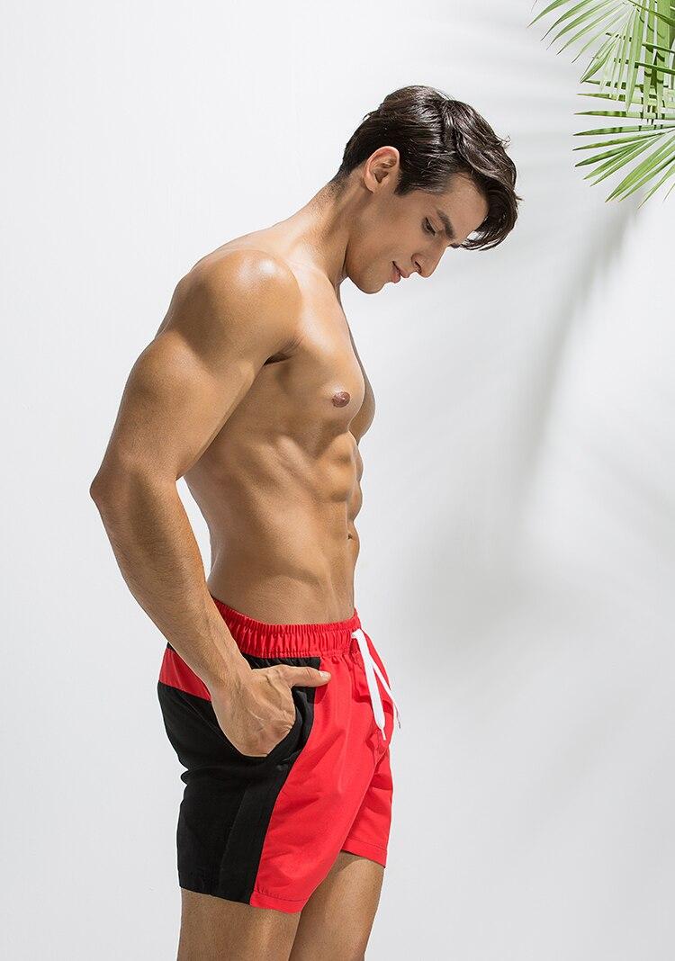 Topdudes.com - Hot Men's Quick Dry Patchwork Beach Short Pants