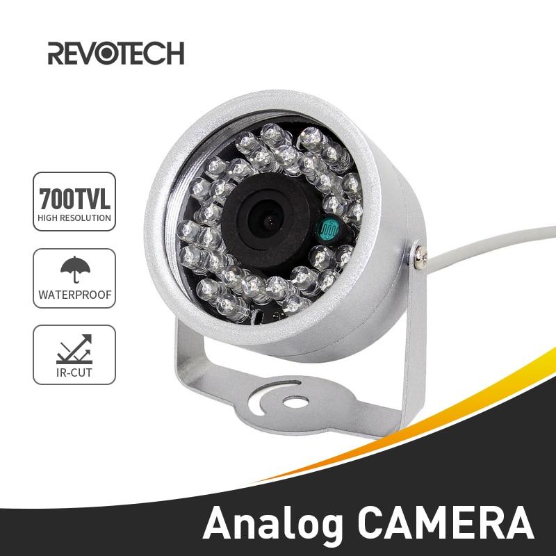 700TVL wodoodporna 30 LED IR Night Vision Sony effio-e CCD / CMOS kamera wideo bezpieczeństwa zewnętrzna kamera CCTV Mini kamera analogowa