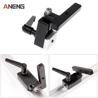 High Quality Miter Track Stop For T Slot T Tracks Woodworking Tool Miter Track Stop DIY