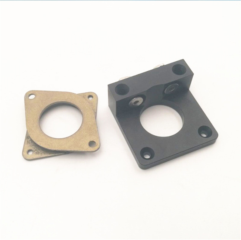 Funssor Aluminum Creality CR-10 Z Motor Bracket CR-10/Tornado Adjustable Z Axis Stepper Motor Mount Damper