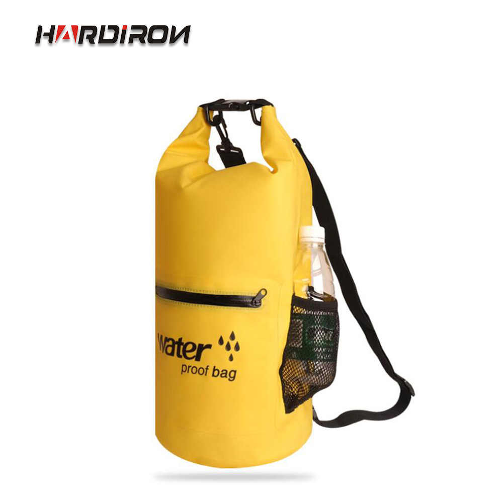 HARDIRON 10L/20L 6 Color Outdoor Waterproof Storage Dry bag Foldable Portable Beach Snorkeling Shoulder Drifting Backpack