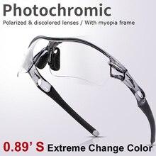 Photochromic gafas de sol polarizadas gafas de 3 Unidades lentes intercambiables para el ciclismo corriendo gafas de sol oculos new