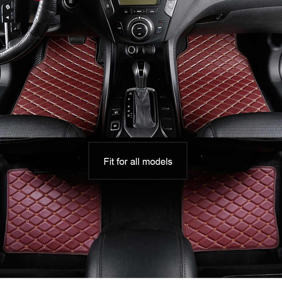 Araba seyahat araba kat mat Mitsubishi pajero spor 4 grandis lancer outlander xl 2017 2013 araba aksesuarları su geçirmez