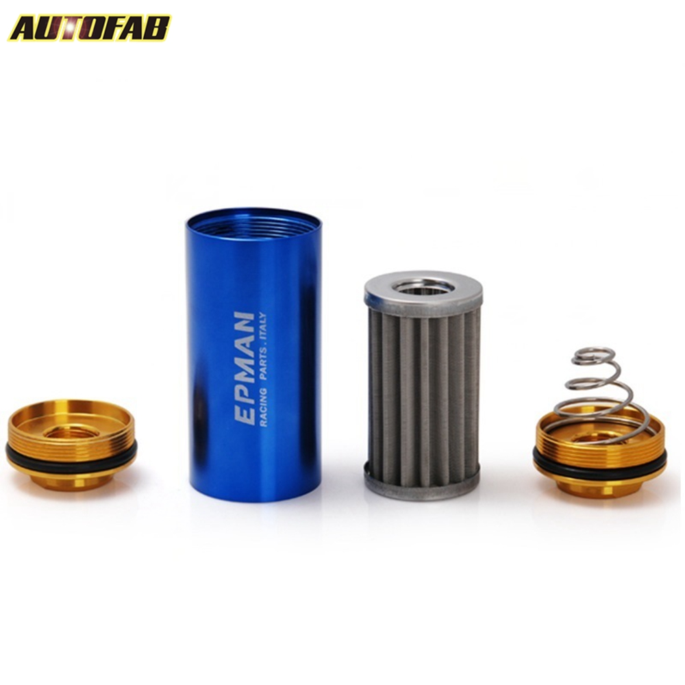 medium resolution of universal racing aluminum an8 high flow fuel filter n a turbo super charge af of08 bl in fuel supply treatment from automobiles motorcycles on
