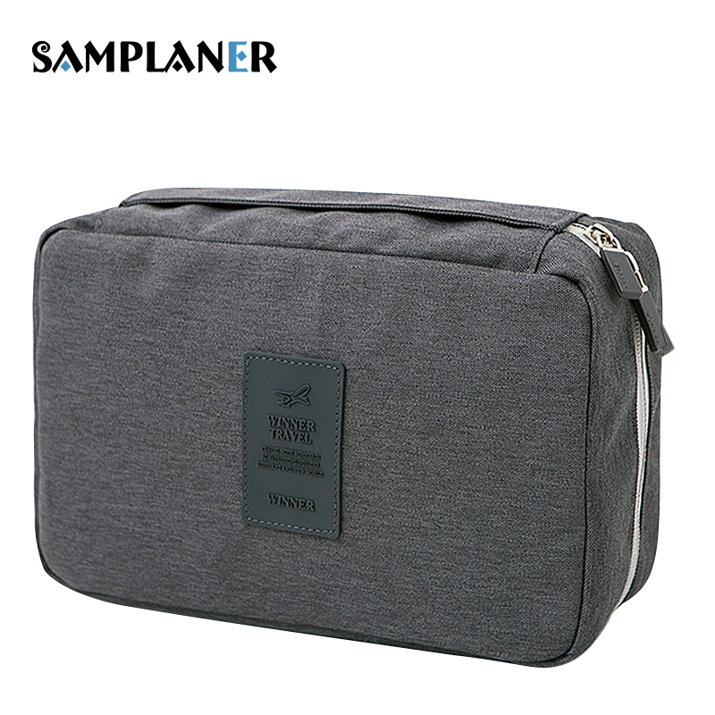 Samplaner Candy Cosmetic Bags for Women Men Toiletry Bag Brush Necessaries Make Up Bag for Travel Storage Hanging Cosmetic Cases