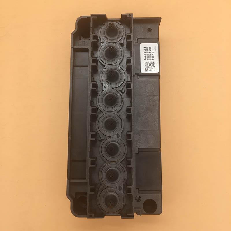 100 original new DX5 Print Head Cover for F186000 DX5 Solvent printhead cover adapter manifold for