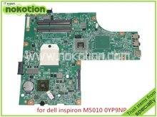 NOKOTION mère d'ordinateur portable pour dell Inspiron 15R M5010 CN-0YP9NP YP9NP 0YP9NP 09913-1 DG15 48.4HH06.011 ATI HD4200 DDR3