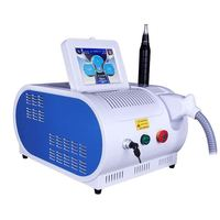 2019 New PROFESSIONAL Nd Yag Laser Eyebrow Machine TATTOO Removal Eyebrow Cleaner Pigmentation Removal Q SWITCH Beauty device