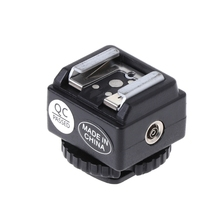 C-N2 Hot Shoe Converter Adapter PC Sync Port Kit For Nikon Flash To Canon Camera цена и фото