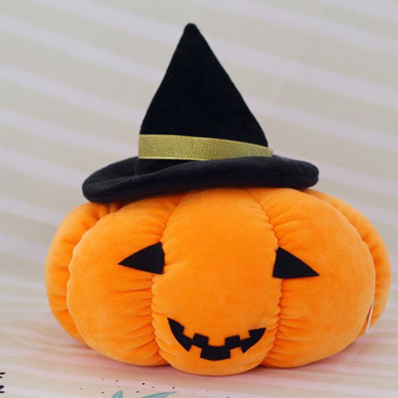 d0d250f9d86 Halloween feather cotton pumpkin doll pumpkin plush toy pad pumpkin doll  Halloween props gift-in Stuffed   Plush Animals from Toys   Hobbies on ...