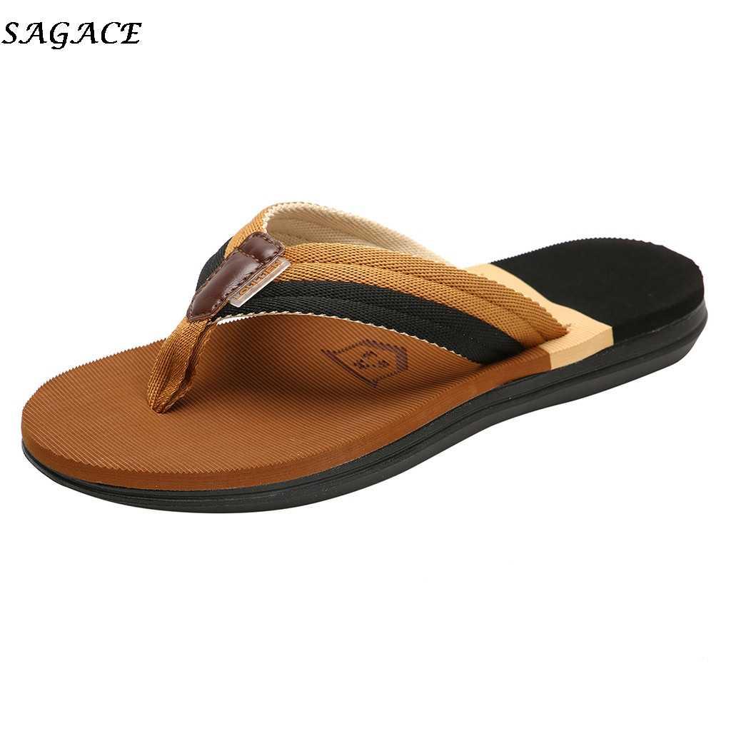 De Exteriores Playa Verano HombreZapatillas Goma Con Chanclas Para Sandalias Planas Zapatos fgyb76