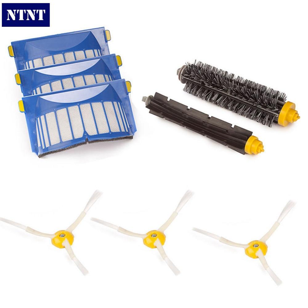 NTNT Free Post New 600 Series 620 630 650 660 Replenishment Brush Filter Kit For iRobot Roomba Aerovac
