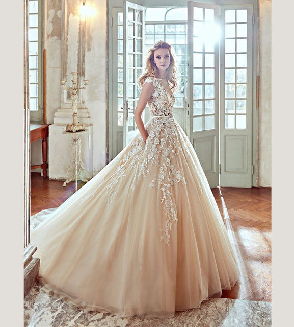 Vestido de noiva 2017 Gorgeous Vintage Wedding dresses Plus Size See ...