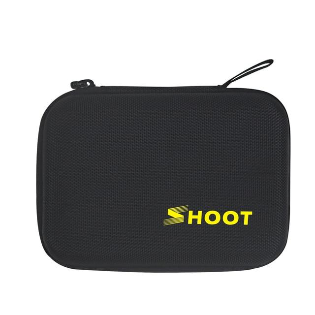 SHOOT Portable Small EVA Action Camera Case for GoPro Hero 8 7 6 5 Black Xiaomi Yi 4K Sjcam Sj4000 Eken H9r Box Go Pro Accessory 1