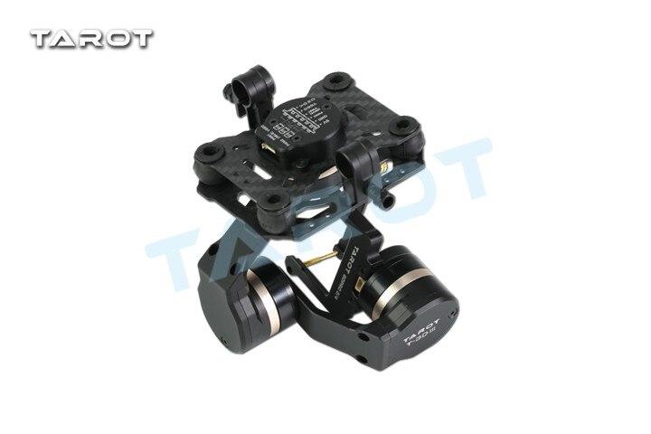 Tarot TL3T01 mise à jour de T4-3D 3D métal 3 axes sans balais cardan pour GOPRO 4 3 + pour Gopro3 FPV photographie F17391 - 5