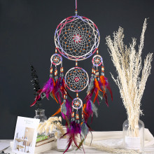Dream Catcher Room-Decoration Wind-Chimes Handmade Indian Wall-Hanging Kids for Car