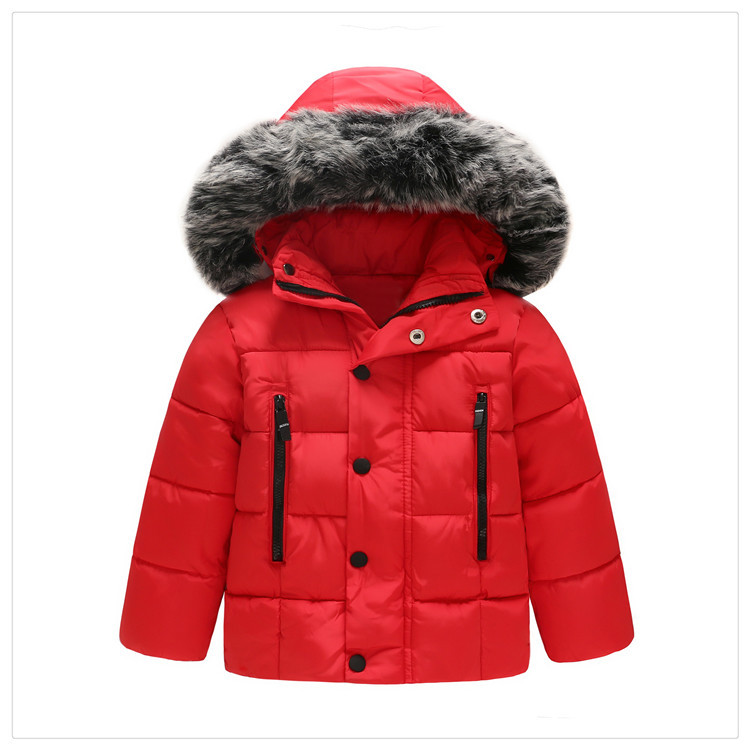 Winter Jacket Coat Kids Warm Thick Hooded  Feel You Store-1182