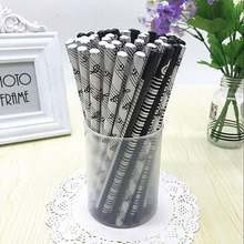 4pcs Musical Note Pencil 2B Standard Round Pencil Music Stationery Piano Notes School Student Gift Prize Pencil Promotion Pencil