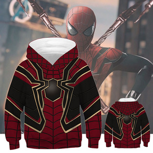 Sudadera толстовка с символикой Человека-паука, Детский свитшот для мальчиков и девочек, осень 2019, хип-хоп, уличная одежда с 3D принтом, толстовка ...
